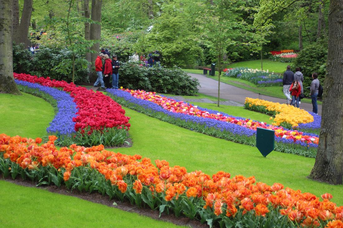 A photo story walk through keukenhof lakama luxury travel - When you walk through the garden ...